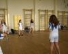 Тренировка на отбора по волейбол - момичета