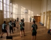 Тренировка на отбора по волейбол - момчета