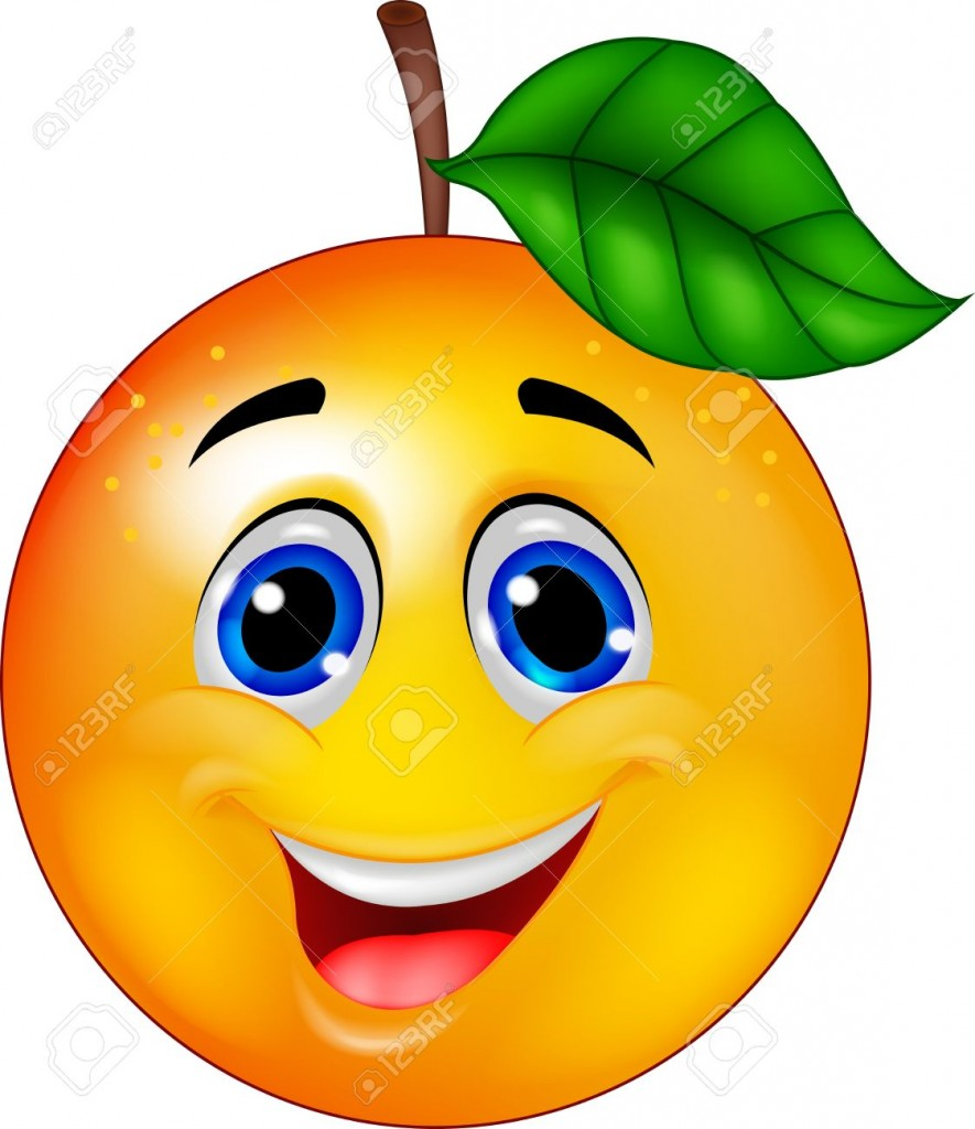 17366641-Funny-orange-cartoon-character-Stock-Vector-fruit
